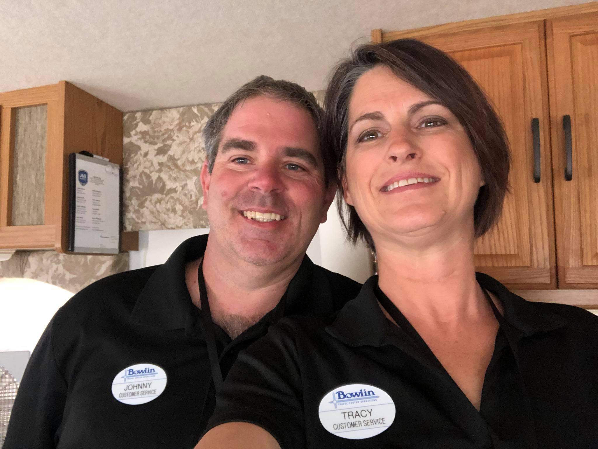 Johnny and Tracy Bercegeay