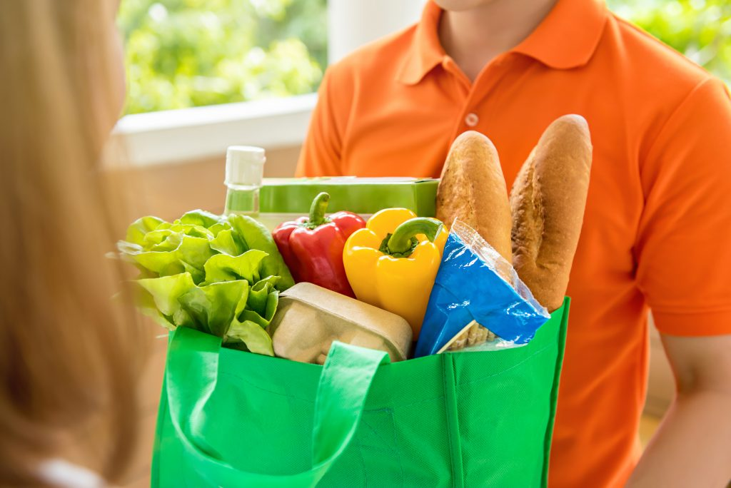 Grocery delivery is on the rise