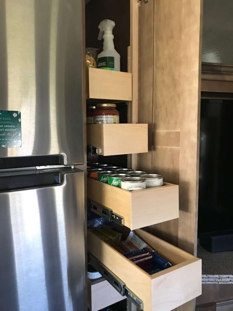 Picture of RV pantry