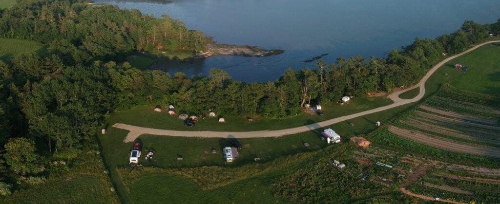 Wolfe's Neck campground