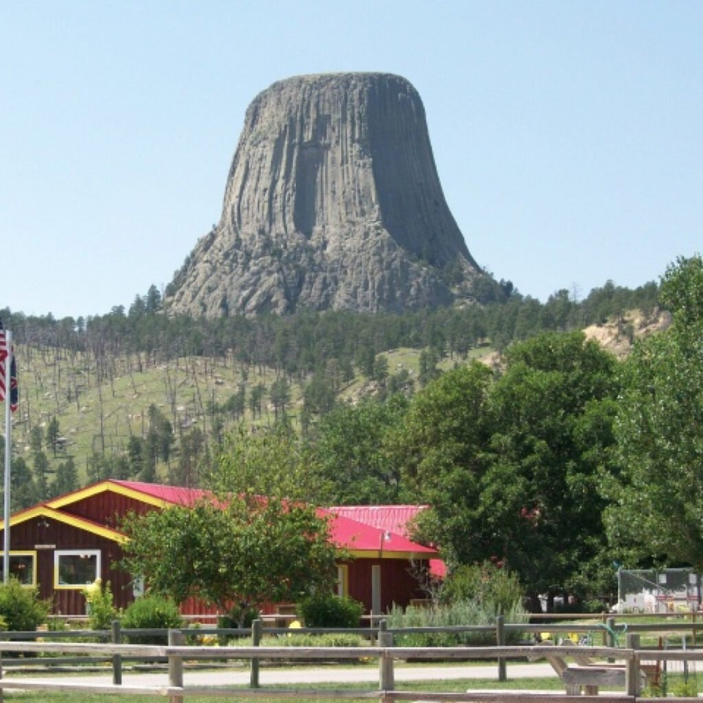 Campground near Devils Tower