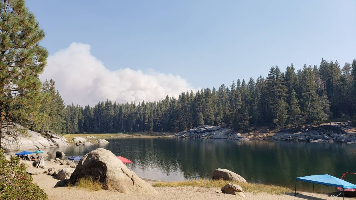 2020 Creek Fire Day One Shaver Lake California