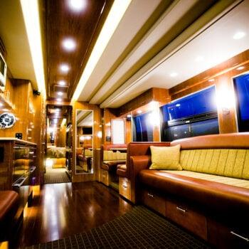 Posh coach rental