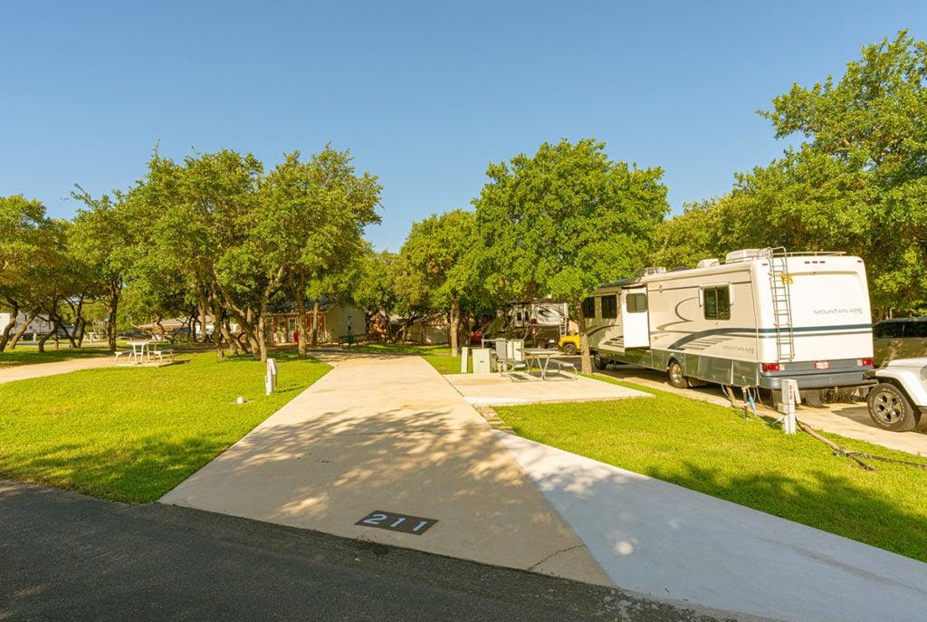 San Antonio RV parks