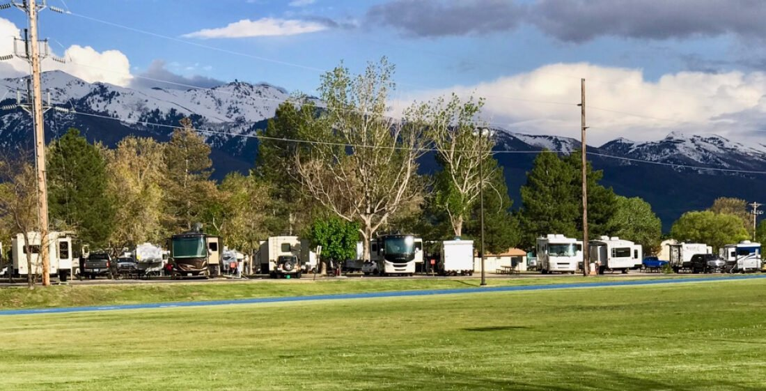 military RV park