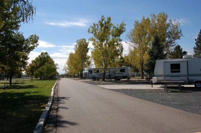 military RV parks