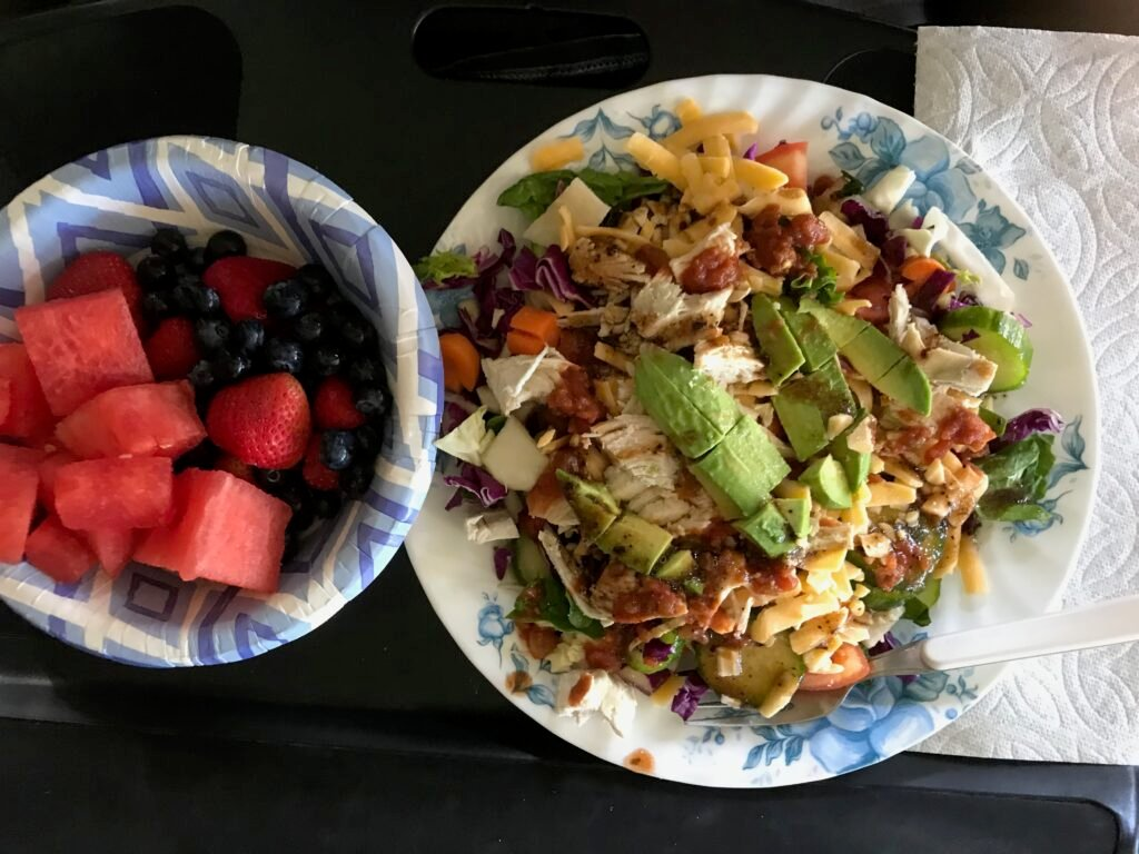 5 Tips to Simplify RV Cooking, Try a taco salad and fresh fruit