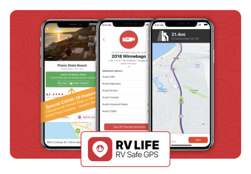 RV LIFE GPS & Campgrounds App