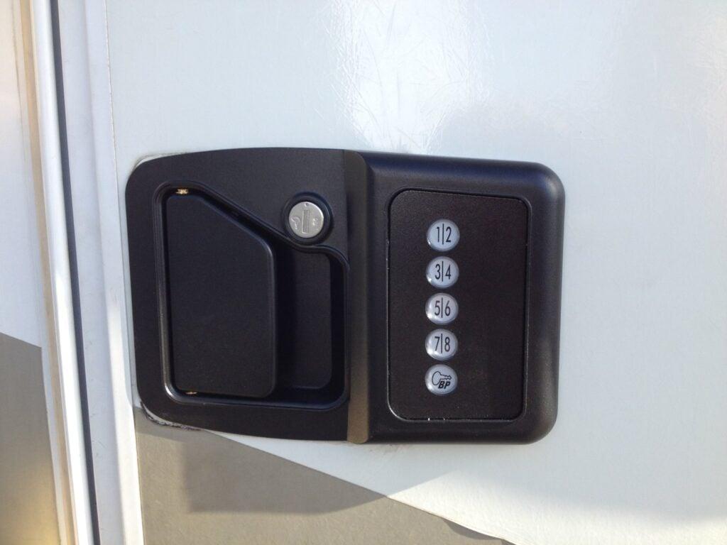 RV door locks