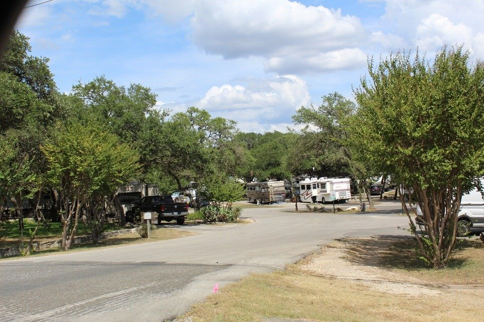 RV resorts in Texas
