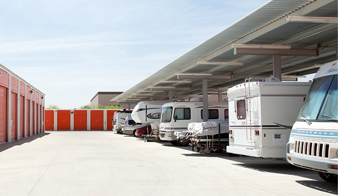 Uhaul RV storage