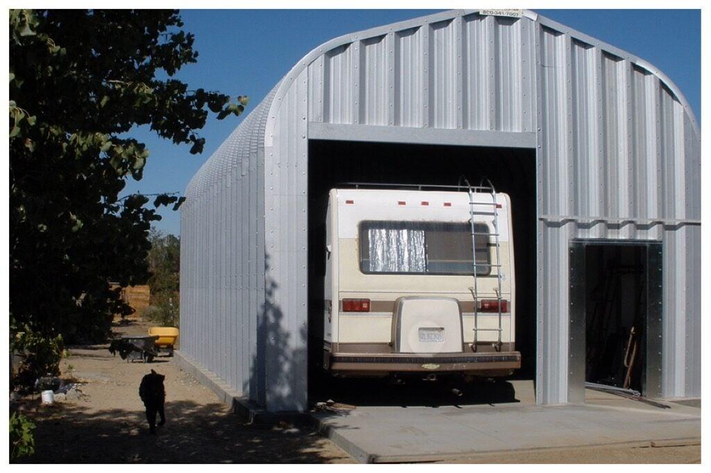 Covered RV Storage