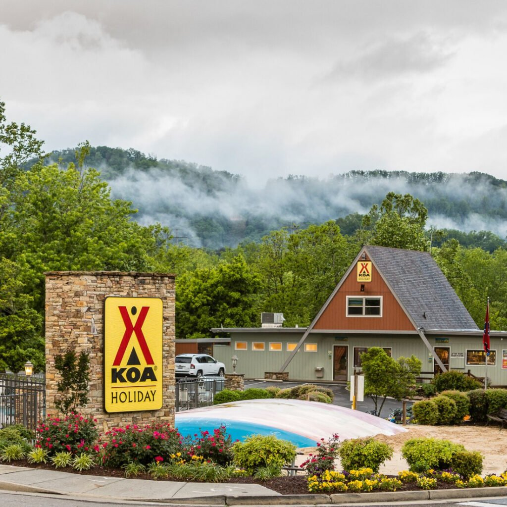 campgrounds in Pigeon Forge