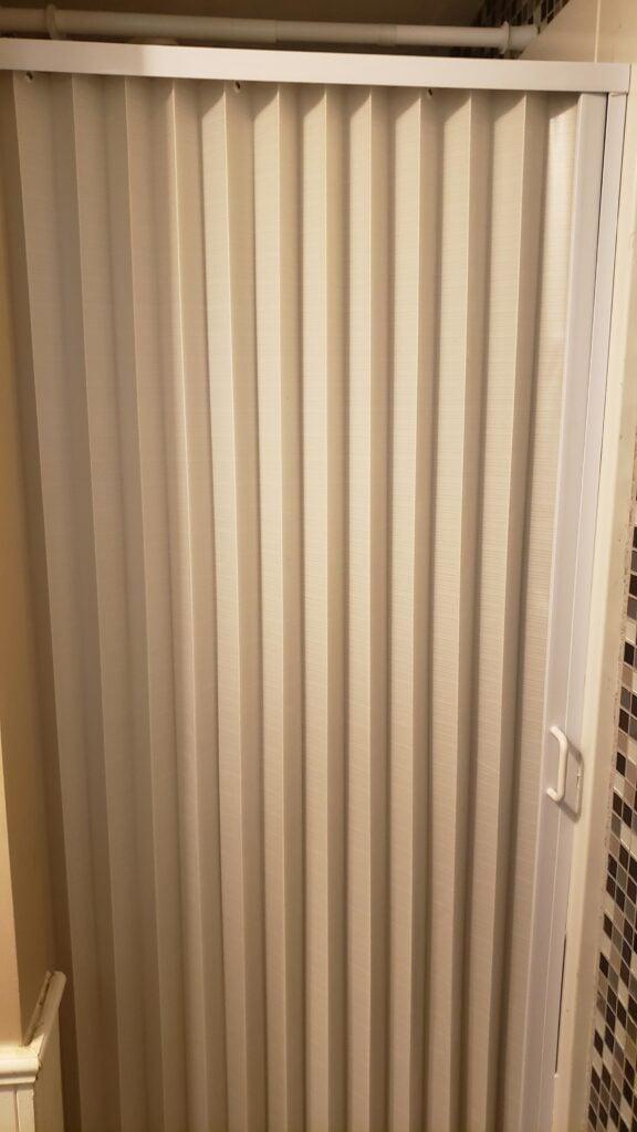 RV shower door