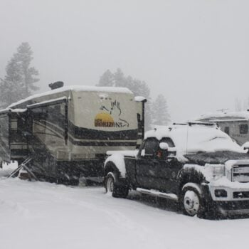 winter RVing tips