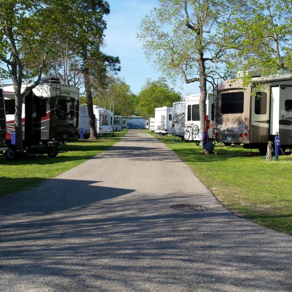 RV campgrounds in Texas