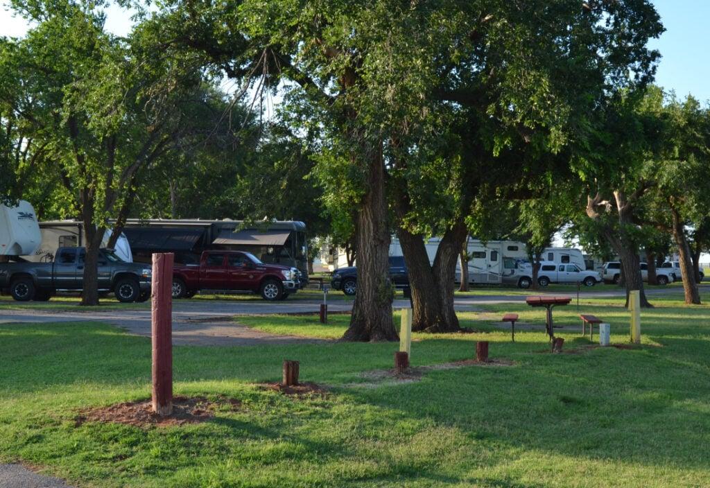 Elk City, campground, RV