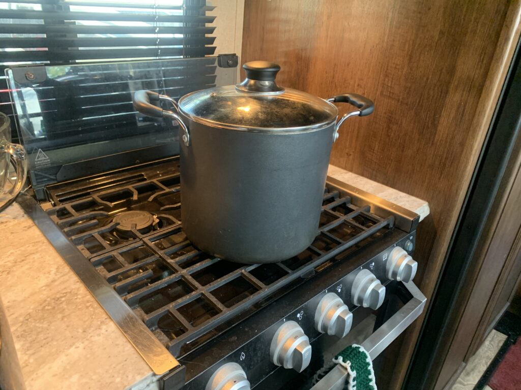 recipes for the RV stove