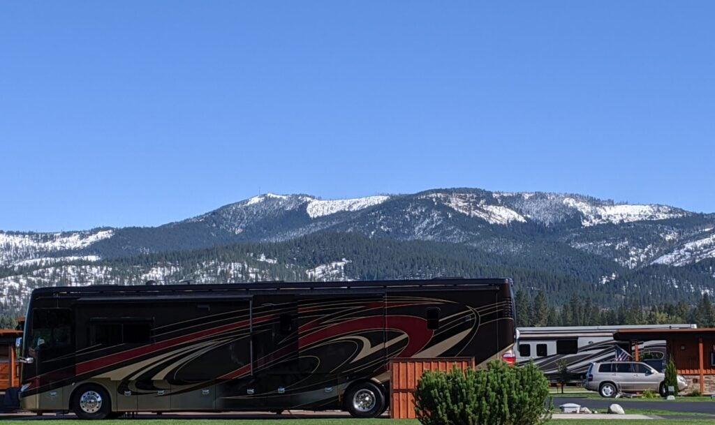 Gorgeous scenery at StoneRidge Motor Coach Village