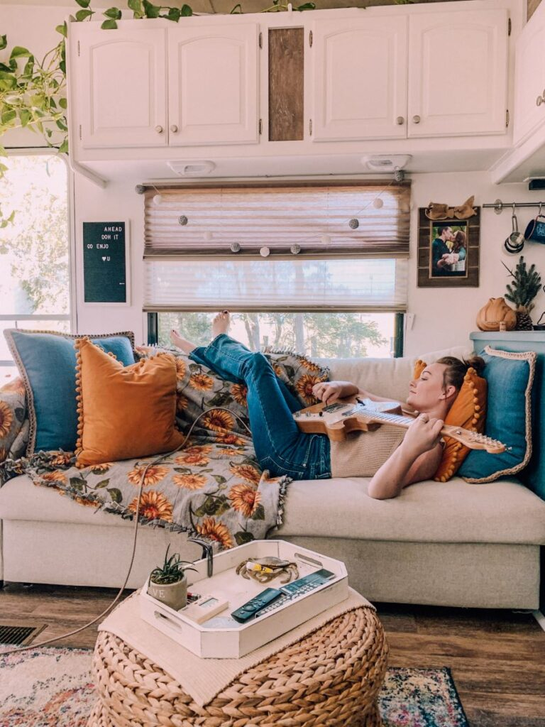 RV living is a daydream