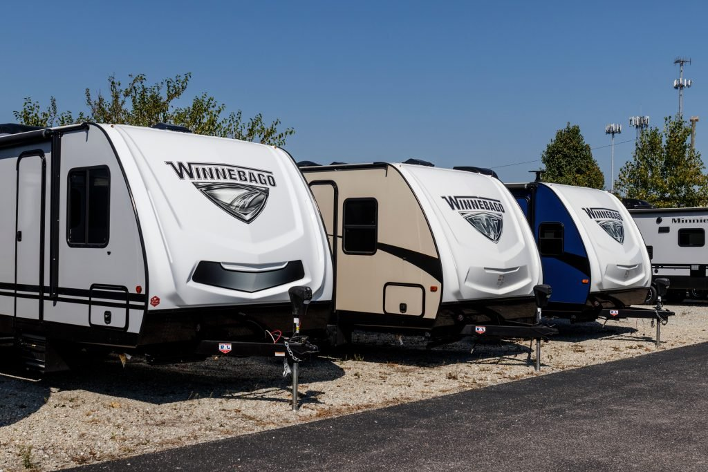 RV financing at an RV dealership