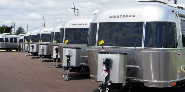 RV financing at an Airstream dealership