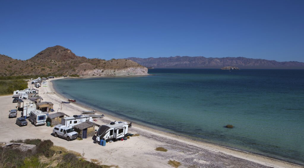 RV camping in Mexico