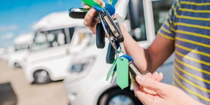 RV consignment key set