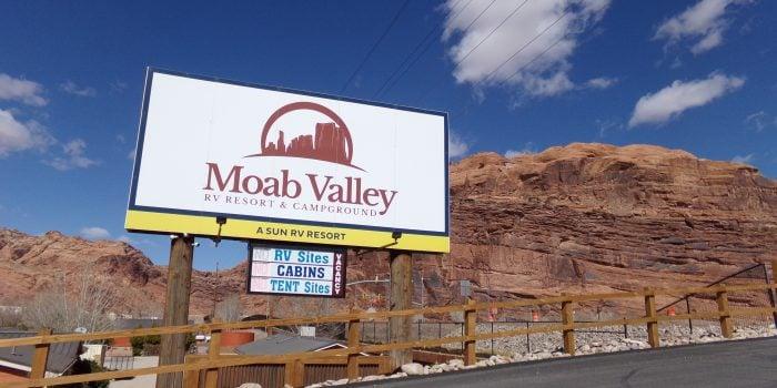 camping near Moab