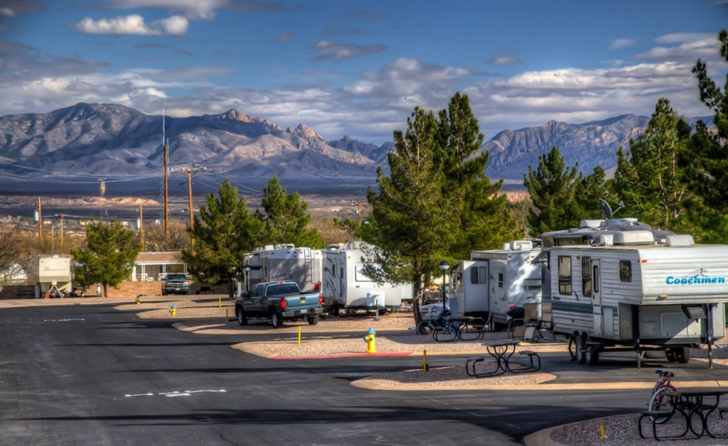 Picturesque views from Butterfield RV Resort & Observatory