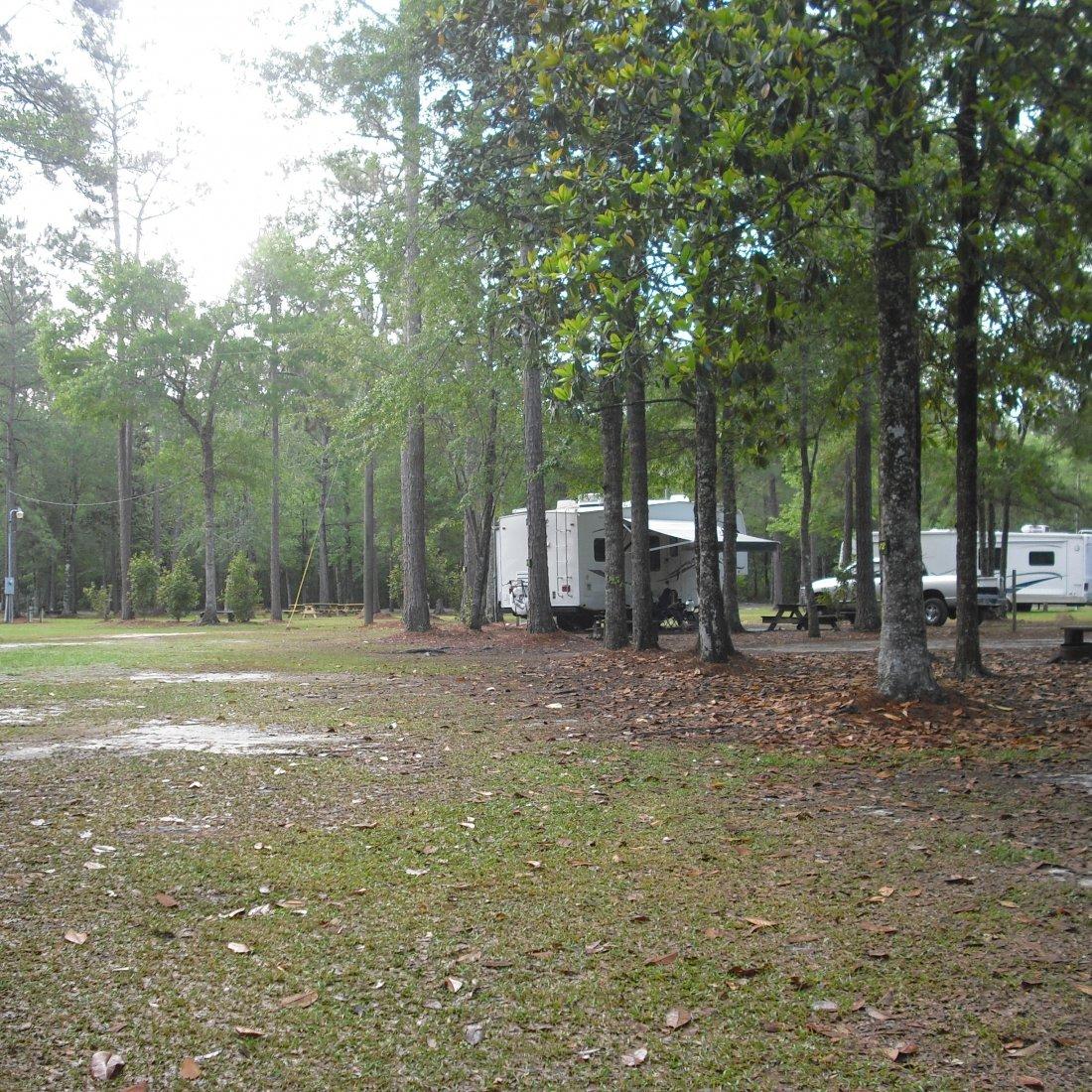 Deep Bend Landing campground