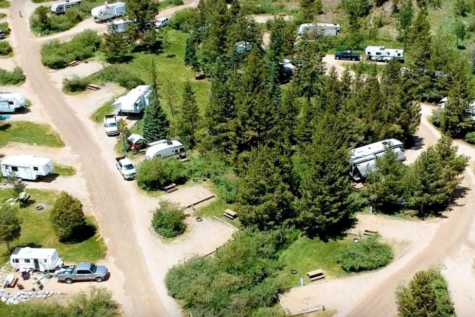 RV parks near Rocky Mountain National Park - elk creek campground