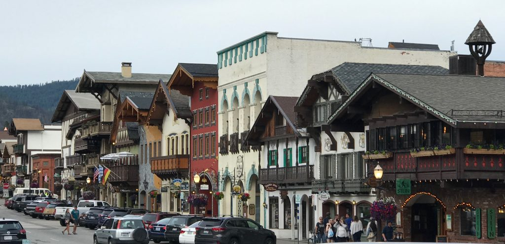 scenic RV destination - Leavenworth, WA buildings