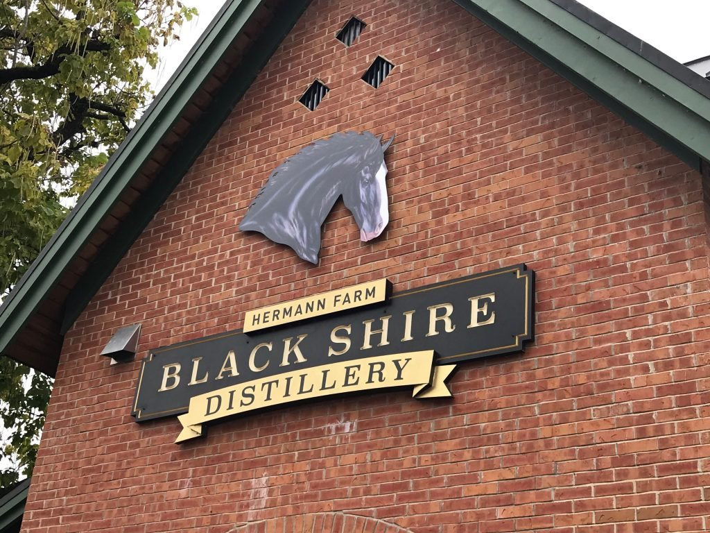 Black Shire Distillery building