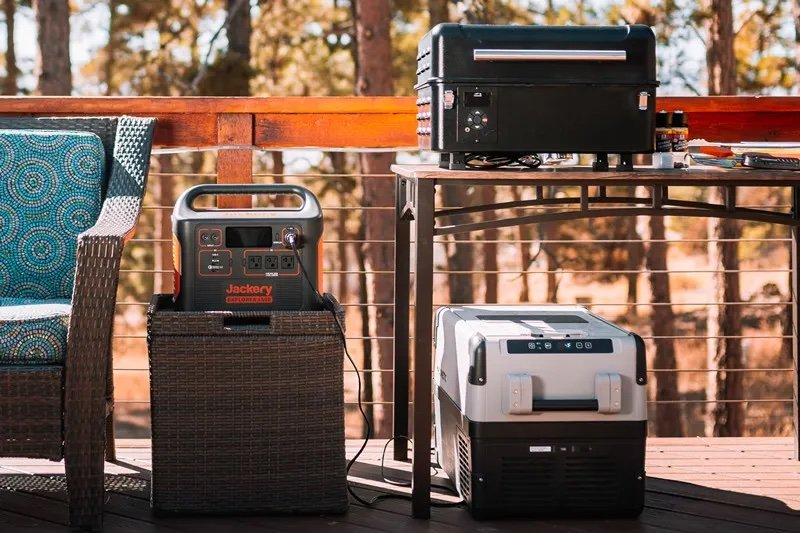 Power a cooler and more with the Jackery 1500