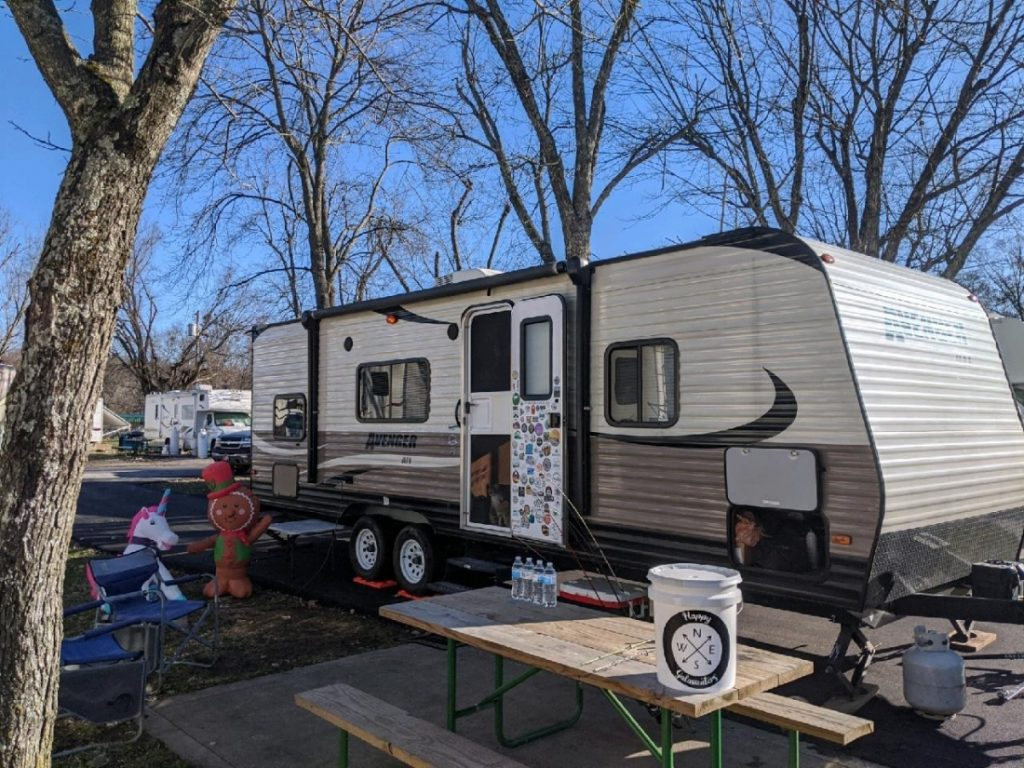 RV at Elkhorn Campground