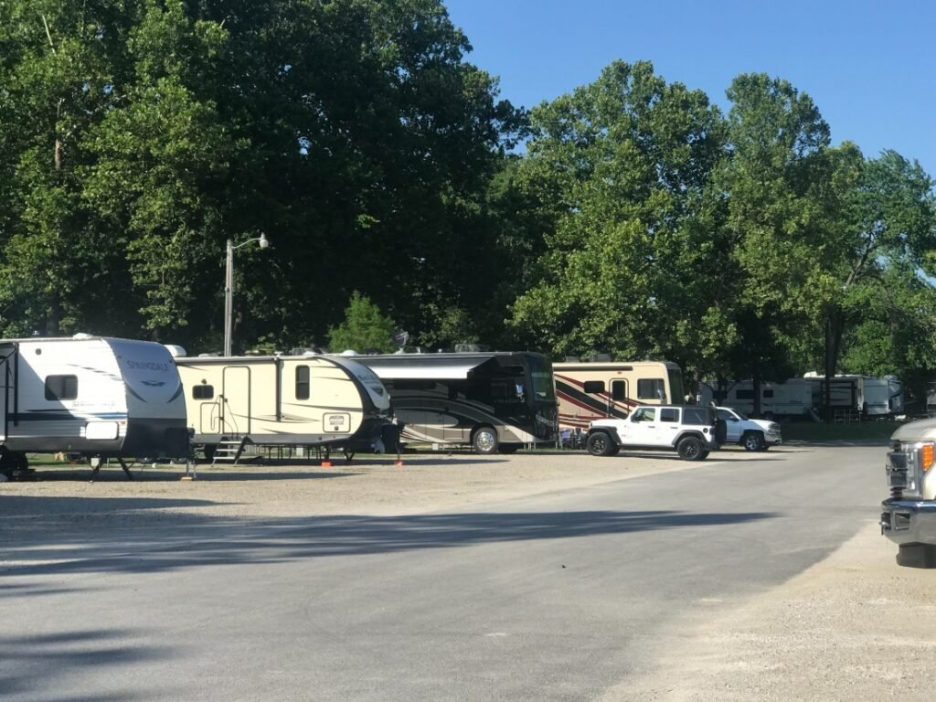 view at Branson RV Parks