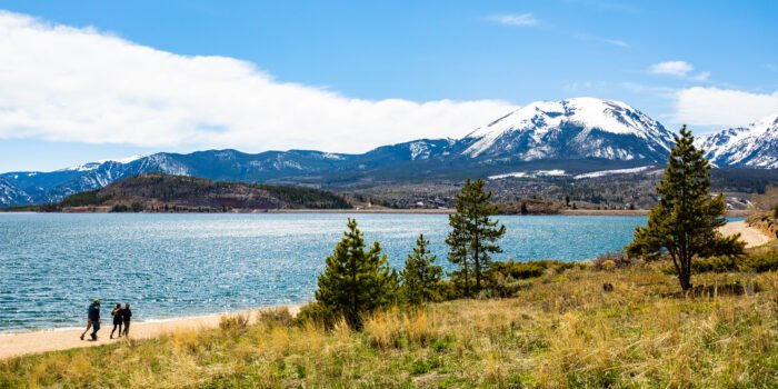 Dillon Lake in Rocky Mountain National Park
