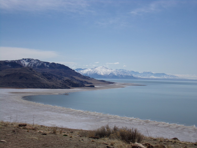 Go Camping On The Great Salt Lake In Utah