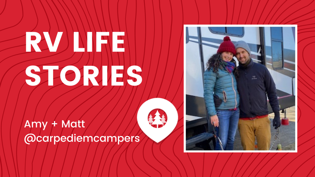 Amy & Matt for RV Life Stories - Adventure Nomads
