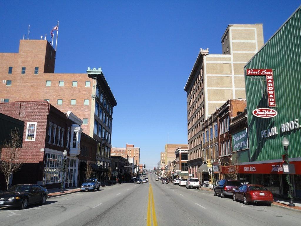 Main Street in Joplin, MO