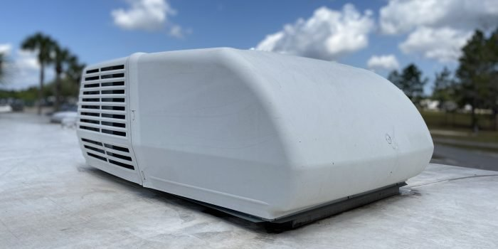 RV Air Conditioner on roof