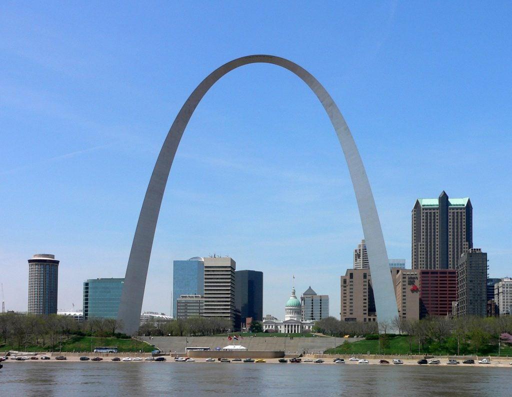 Gateway Arch in St Louis MO