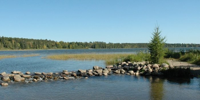 camping in Minnesota at Itasca State Park