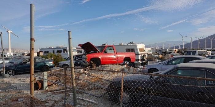 RV salvage yards
