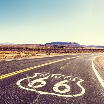 Route 66 road view