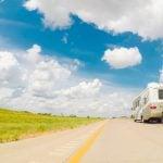 RV driving in Kansas