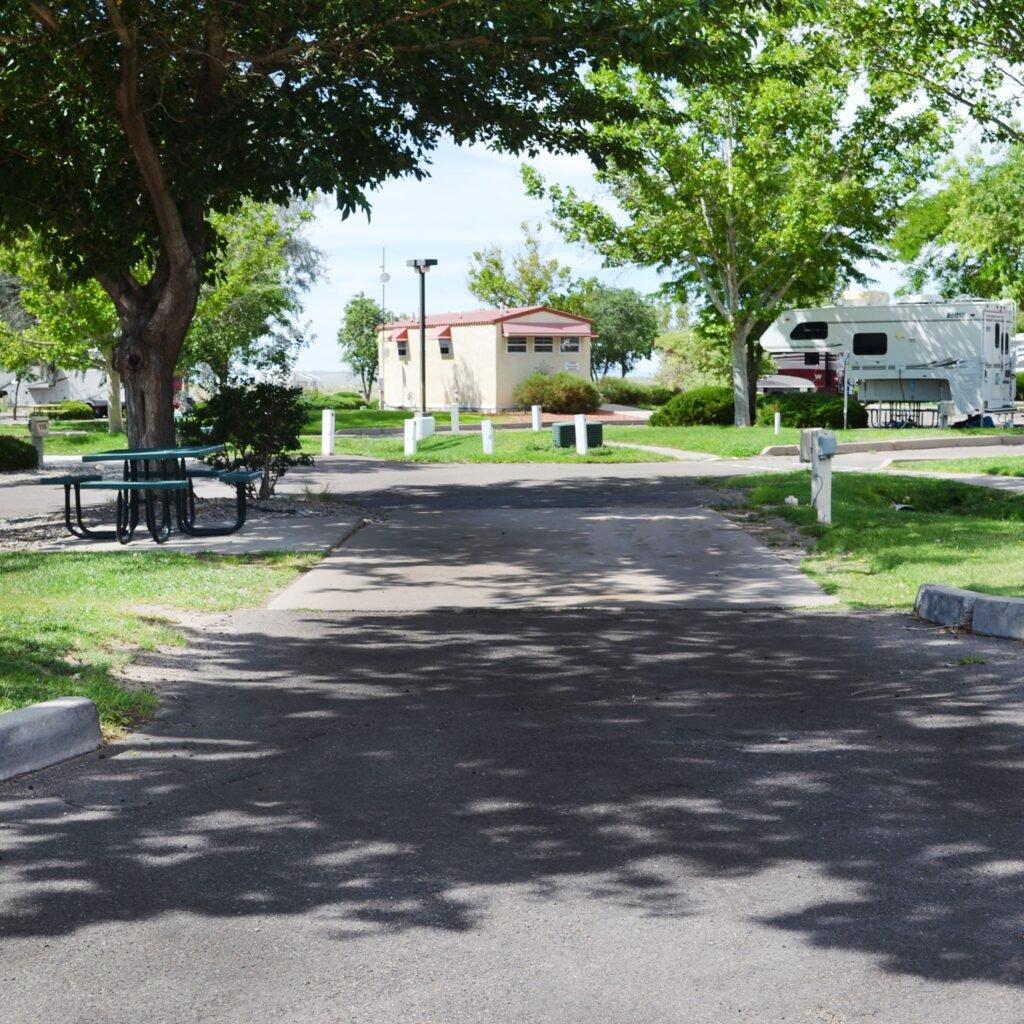 American RV Resort view