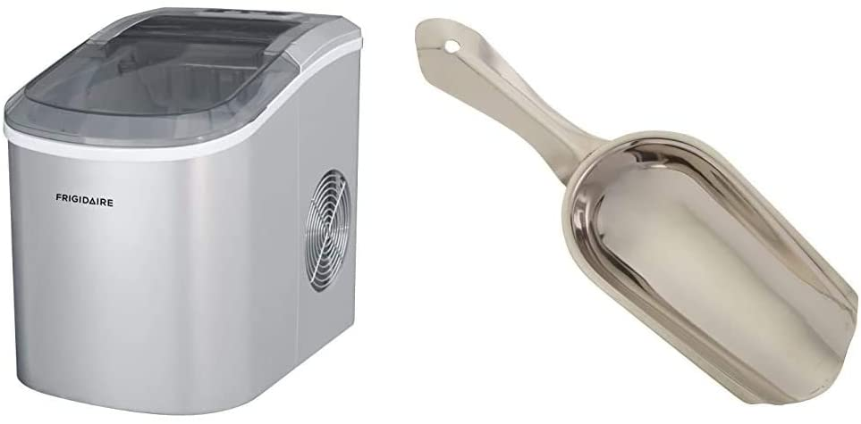 portable ice maker with ice shovel