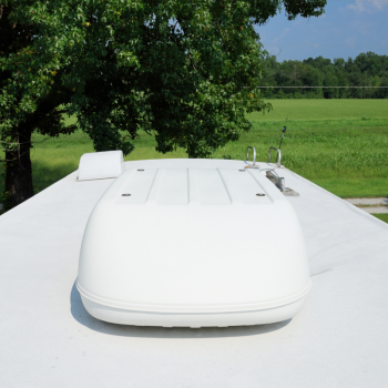 Roof mounted RV air conditioner - RV air conditioner cover